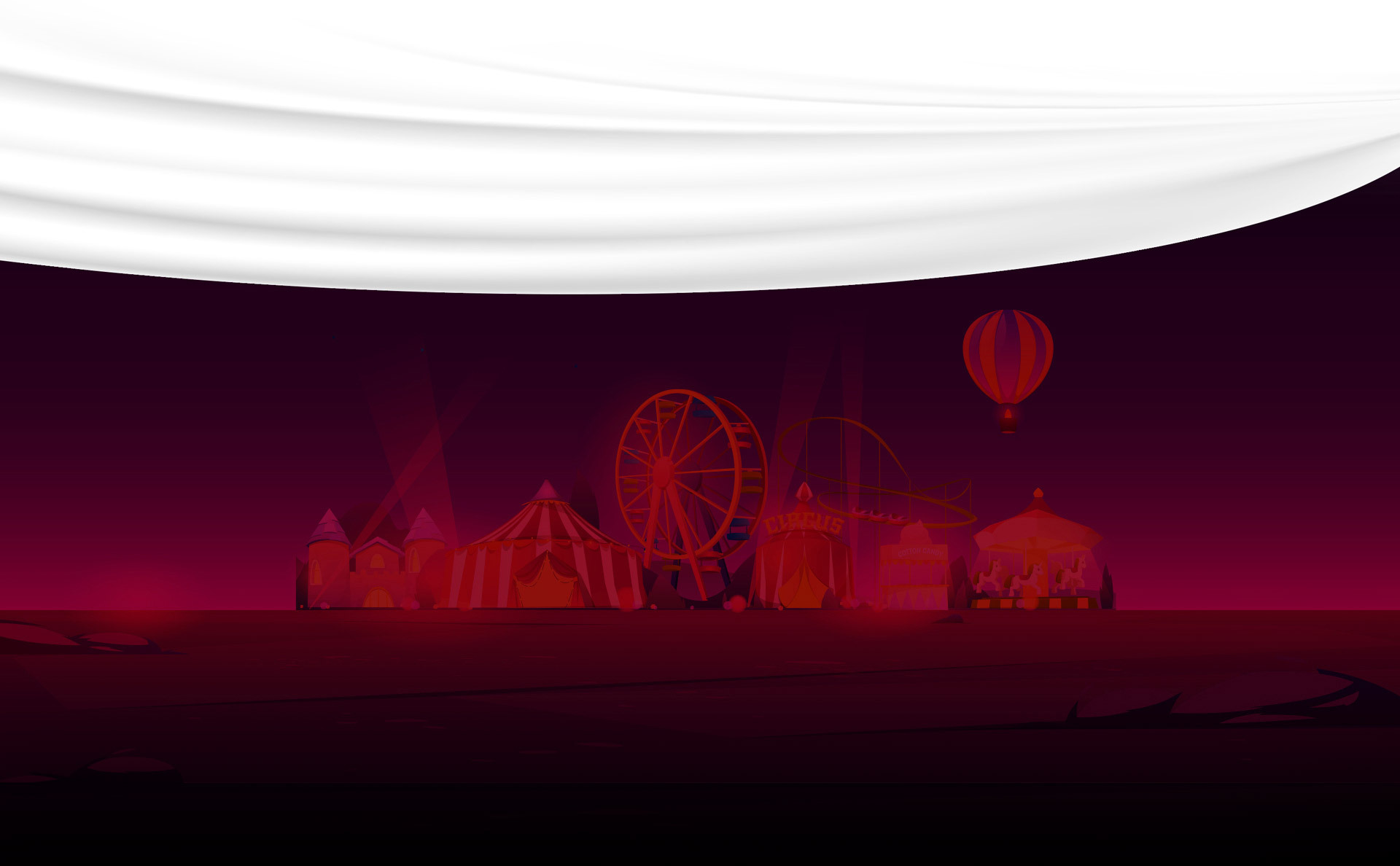 Full Circus footer image